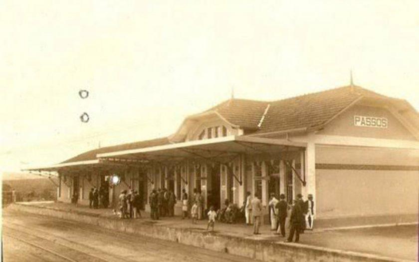 estação de trem de passos mg