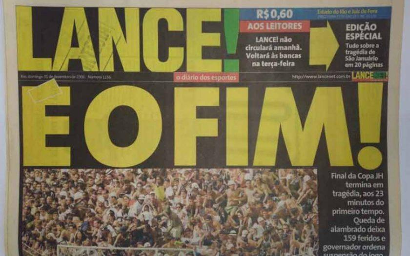 Ex-diário impresso, Lance é vendido por R$ 25 milhões